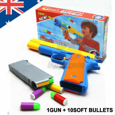 Toy Gun Pistol Soft Bullets M1911 Realistic 1:1 Scale OZ