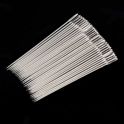 30Pcs Big Eye Hand Sewing Needles Quilt Wool Thick Yarn Knitting Needles New