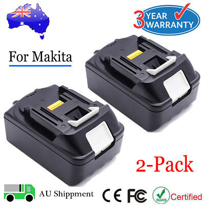 2x New 18V Max Lithium Ion Battery LXT For Makita BL1830 BL1815 BL1840 Cordless