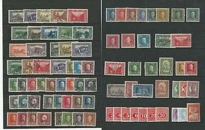 Bosnia Herzegovina Collection , Nice Lot of 105 Different on 3 Stock Pages