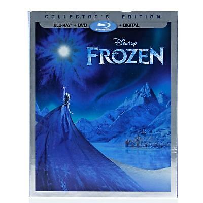Disney FROZEN Blu-Ray + DVD + Digital HD New Sealed Movie Club Exclusive Sleeve
