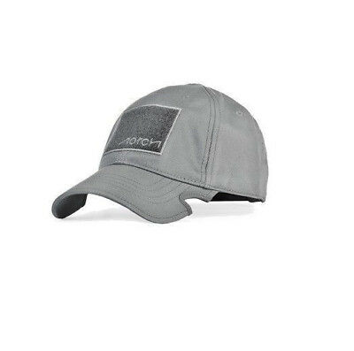 Notch  Cap Classic Fitted Hat Grey Operator Wolf Grey Military Fitness Headwear