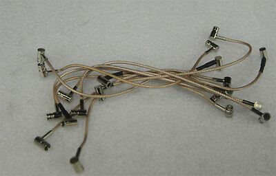 """Coaxial Cable  8""""  with RA SMB receptacle connectors  Qty:10"""