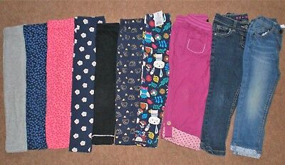 GIRLS SUMMER LEGGING BUNDLE 2 - 3 Years Old JEANS Trousers Job Lot Clothing 2/3