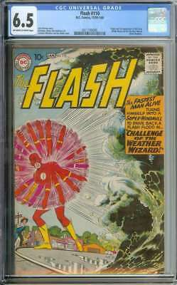 Flash #110 Cgc 6.5 Ow/wh Pages