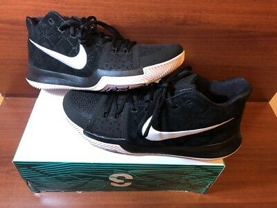 Nike Kyrie 3 Men/'s Basketball Shoes Black//Siltstone Red//White 852395 010