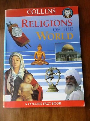 Collins Fact Book **RELIGIONS OF THE WORLD** Different Faiths Beliefs RE School