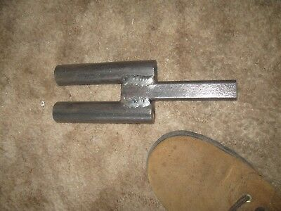 "Blacksmith Anvil Tool 11/8"" hardy Turning Bending Forge Scrolling Twisting"
