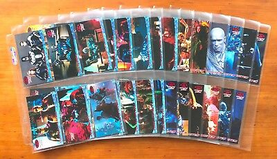 1997 Fleer/SkyBox Batman & Robin - Set of 70 Widevision Cards