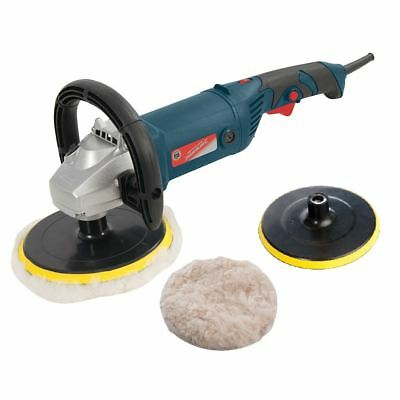 Car Sander & Rotary Polisher 1500W Variable Speed 180mm - Silverstorm