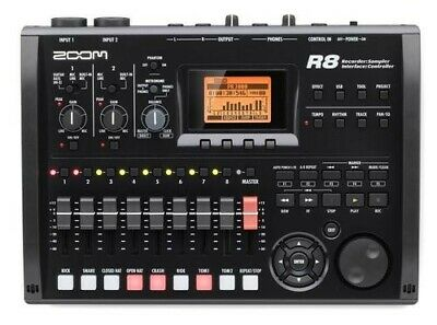 Zoom R8 8 track digital recorder/USB interface/controller