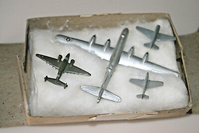 4 General Mills Cereal Premium Airplanes in Original Mailer Box