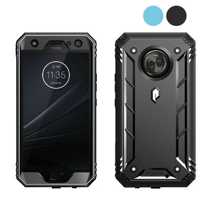 Poetic Revolution 2 Color Case【Anti-Scratch】Rugged Case For Motorola Moto X4