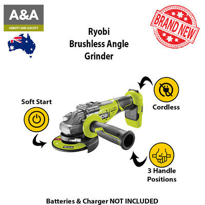 Ryobi Right Angle Grinder Set Brushless Excellent Choice Perfect Tool Best