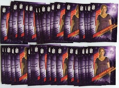 Lot of 69 2016 Topps Doctor Who #3 Donna Noble Companions Across Time Inserts!!