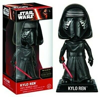 FUNKO WOBBLER: Star Wars - Kylo Ren with Helmet [New Toys] Bobble Head