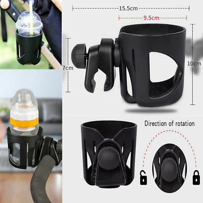 Baby Stroller Pram Cup Holder Universal Bottle Drink Water Coffee Bike Bag RN