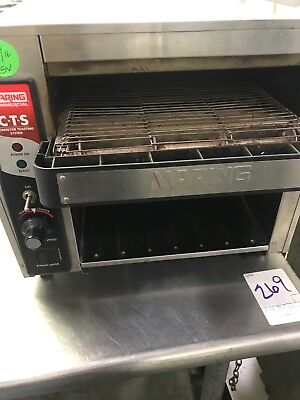 Waring CTS1000 Commercial Conveyor Toasting System Restaurant Bread Toaster Oven