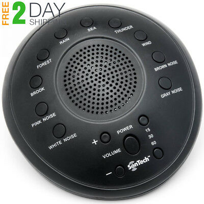SonTech- White Noise Sound Machine - 10 Natural Soothing Tracks – Multiple...