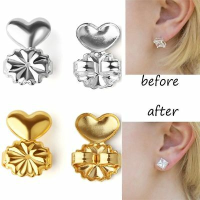 MagicBax Earring backs Lifters Firmly Supports lifts fit hypo gold & Silver New