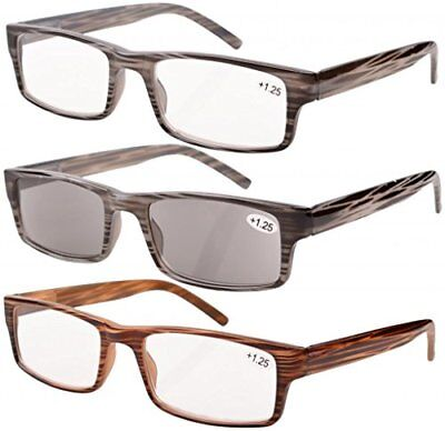 6fcae28e275 3-PACK SPRING HINGE Reading Glasses Includes Sun Readers -  9.99 ...