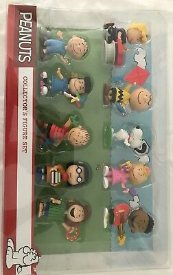 Just Play Peanuts Collector's Figure Set New Open Box