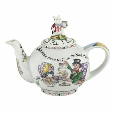 Official Cardew Alice in Wonderland 18oz 2 Cup Ceramic Teapot - Boxed Tea Party