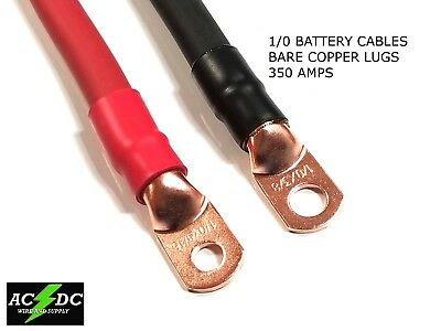 1/0 AWG 0 Gauge Copper Battery Cable Power Wire Auto/Inverter/RV/Solar