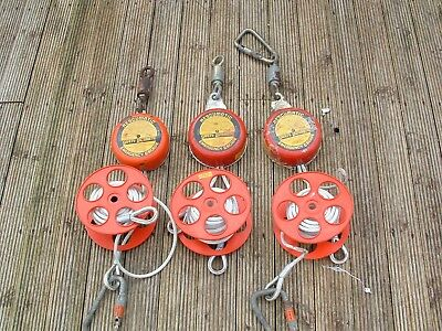 RESCUEMATIC Automatic Evacuation Descender 3 Sets Requiring Full Service Etc