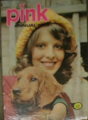 Pink Annual, 1975, , Very Good Book