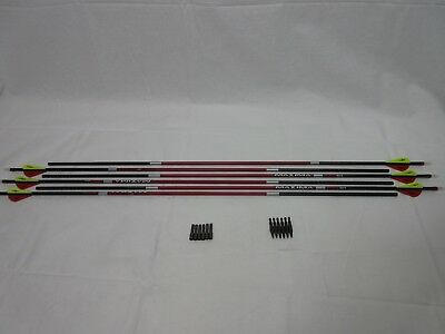 Carbon Express Maxima Red SD 350 / 250 Factory Fletched hunting Arrows 6 Pack