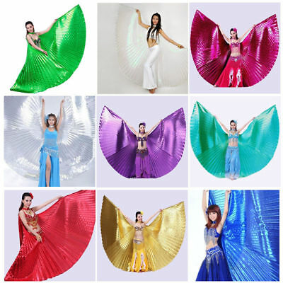 AU Belly Dance Wings Professional  Isis Wings Sticks Bag  Belly Dance Costume