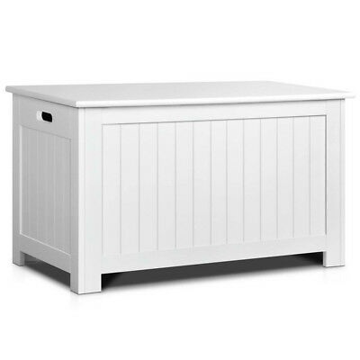 Kid's Toy Cabinet Chest White-302702860846