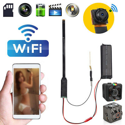 Mini WIFI HD Hidden Wireless Spy IP Camera 1080P DIY Module DV DVR NVR Nanny Cam