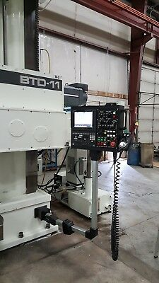 Used Shibaura - Toshiba CNC Horizontal Boring Mill with built in index table