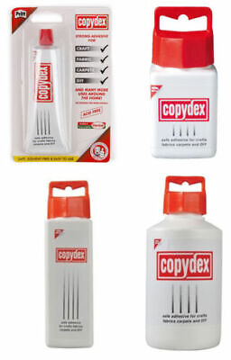 Copydex Adhesive Glue For Craft Fabric Carpets DIY Home Multi-Use Safe Strong