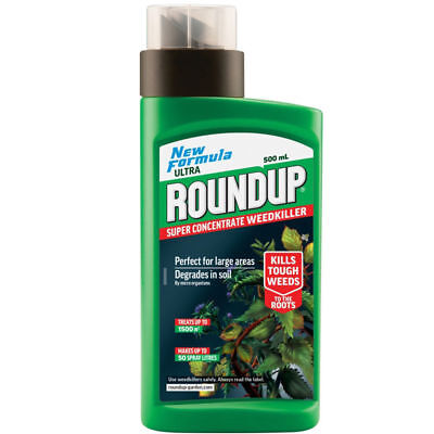 Roundup Garden Ultra Weedkiller Super Concentrate Formula Spray 500ml