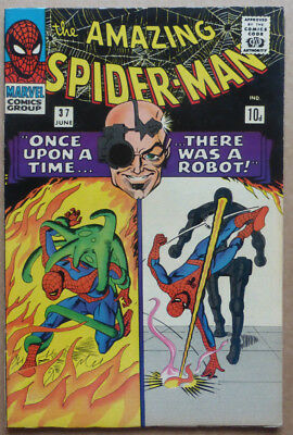 Amazing Spider-Man #37, A Classic Early Marvel Silver Age!!