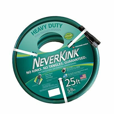 Teknor Apex NeverKink 8615 25, Heavy Duty Garden Hose, 5/8
