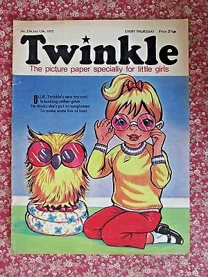 TWINKLE COMIC.  NO.234   JULY 15th.  1972.