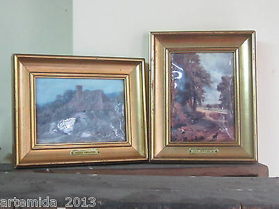 Antique Vintage French ENAMEL OVER COOPER HELCA Pictures