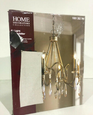 Home Decorators Lake Zurich Hours | Home Decorators Collection 6 Light Bronze Chandelier 1001352741 New