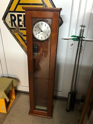GENTS of Leicester master clock 1938 clock No 4802 Factory clock Industrial