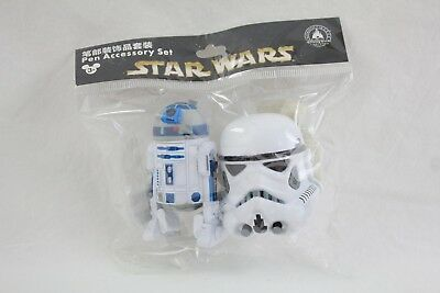 Disney Parks Star Wars Antenna Pencil Toppers R2-D2 Yoda BoBa Fett Stormtrooper
