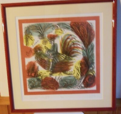 ARTIST RUSSIAN TO IDENTIFY - LITHOGRAPHY SIGNED PENCIL and numbered 2 / 20