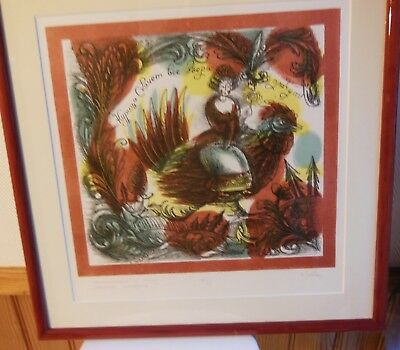 ARTIST RUSSIAN TO IDENTIFY - LITHOGRAPHY SIGNED PENCIL and numbered 11 / 20