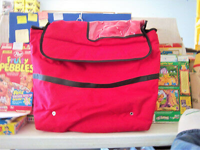 PIZZA Food Delivery Bag Insulated Nylon Pizza Storage Carrier Professional Bag