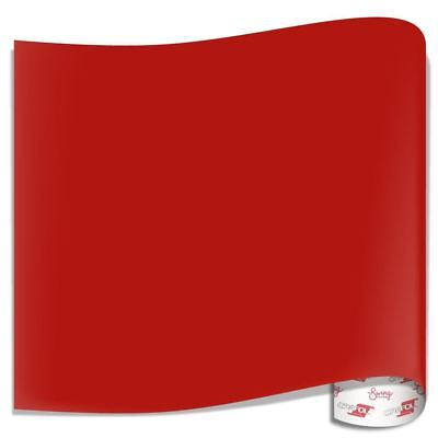 Oracal 751 Glossy Vinyl Sheets - Red
