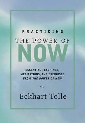 NEW Practicing the Power of Now By Eckhart Tolle Hardcover Free Shipping