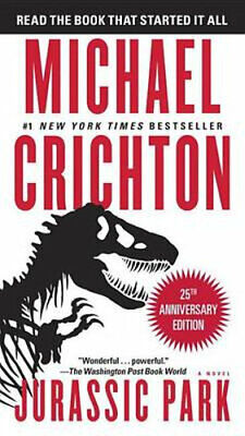 NEW Jurassic Park By Michael Crichton Paperback Free Shipping